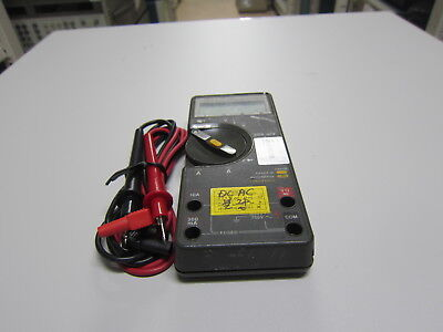 Flukefluke-77 Multimeter Calibrated With Leads As-is