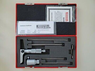 Spi 13-838-8 0-4 Half Base Depth Micrometer