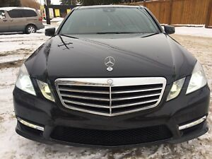 2012 MERCEDES E350 LOW KM 4-MATIC FULLY LOADED