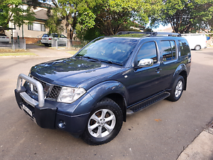 2007 NISSAN PATHFINDER R51TI TURBO DIESEL 4WD AUTO LONG REGO LOW Belfield Canterbury Area Preview