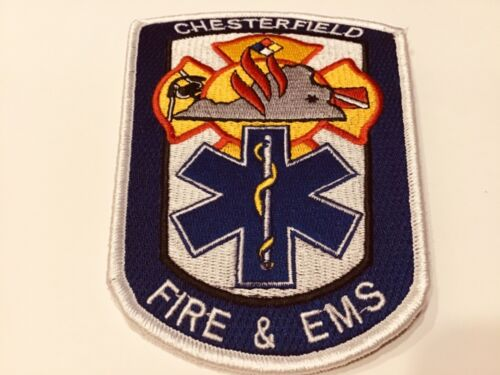 CHESTERFIELD FIRE & EMS PATCH