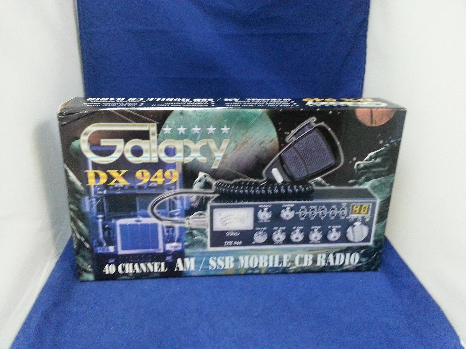 Galaxy DX-949 CB Mob ssb Swr Talkback Rog.bp Pa Mode