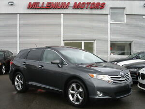 2010 Toyota Venza V6 AWD / LEATHER / B.CAM / PANORAMIC ROOF