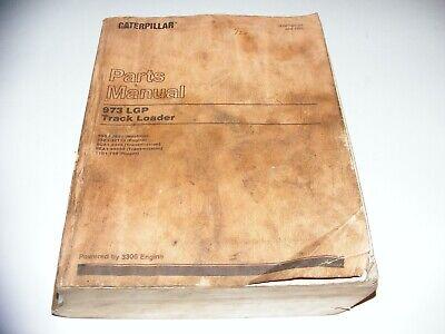 Vtg Caterpillar Parts Manual 973 Lgp Track Loader 3306 Engine 11b1-79986g1-2999