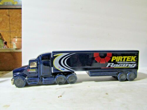 Unique Pottery Of Australia Pirtrek Racing Semi Truck Decanter