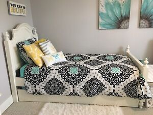 SOLD - Girls Twin Bedroom Set with Trundle
