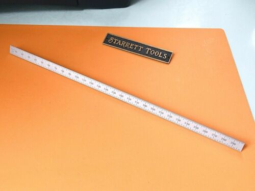 "STARRETT No.C330-300 Full-Flexible Steel Rule with Millimeter Graduations. ""USA"""