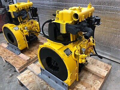 Hatz Diesel Engine Z-790 Restored (Military Surplus)