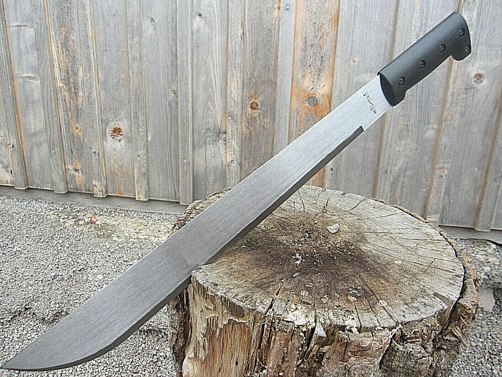 Grosse Stahl MACHETE Messer Camping BUSCHMESSER Beil Outdoor Angeln Jagd Mi2