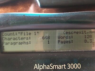 Alphasmart 3000 Upgraded Tested And Refurbished