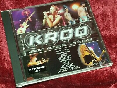 Like new The Best of KROQ Almost Acoustic Christmas CD Cake Radiohead No Doubt  ()