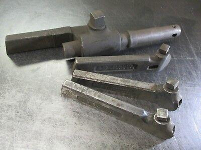4-piece Used Lathe Toolholder Set Cd