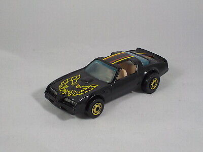 Hot Wheels Hot Bird 1977 Smokey and the Bandit Trans Am black t-tops bin 2