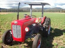 MASSEY FERGUSON 35 - 4 CYLINDER DIESEL TRACTOR AND SLASHER COMBO Killarney Southern Downs Preview