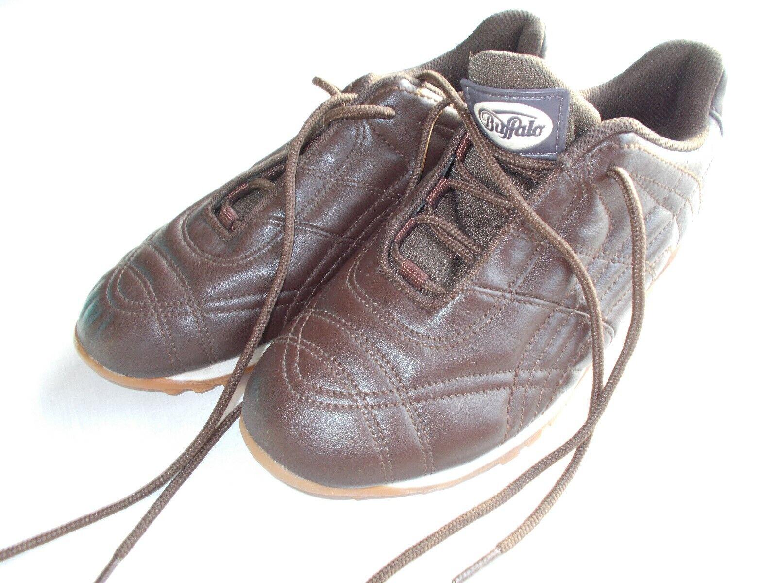 Buffalo Sneaker Leder braun NEU Gr.37  Sammler Fashionschuh Neu Top