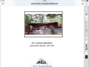 Chalet à vendre / cottage for sale