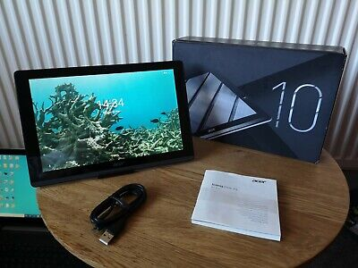 """ACER Iconia One B3 A50 Full HD 10.1"""" Tablet 16gb Quad Core Android 8.1 Grey"""