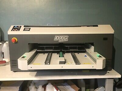 Dtg M2 Printer Package With Heat Press And Pre-treat Machine