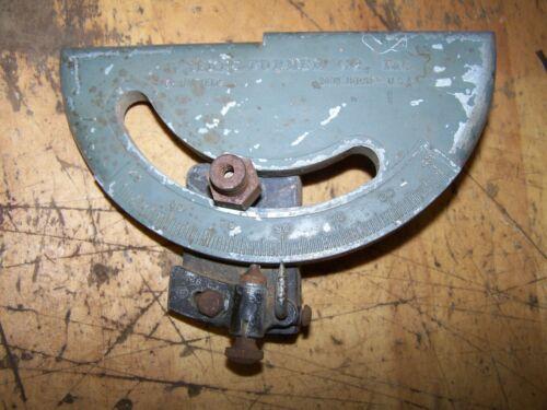 """Walker Turner Vintage 6"""" Jointer Fence Adjustment Gauge Assembly"""