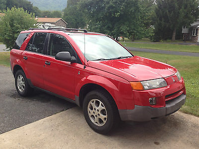 2003 Saturn Vue SUV V6 AWD, red, very clean