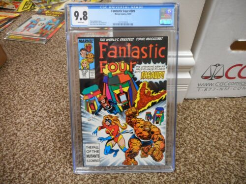 Fantastic Four 309 cgc 9.8 Marvel 1987 Ms Thing Human Torch cover MINT WHITE pgs