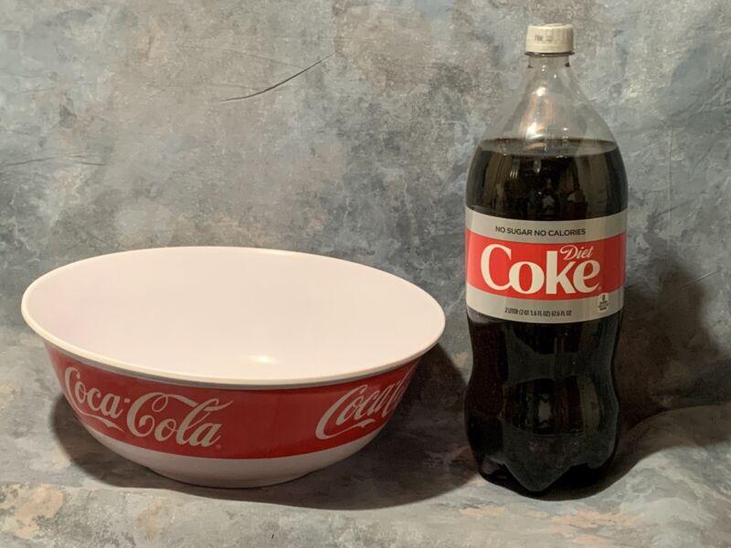 Coke / Coca-cola Large SERVING BOWL