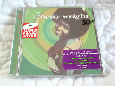 THE VERY BEST OF BETTY WRIGHT CD NEW R&B SOUL DANCE CLEAN UP WOMAN BABY