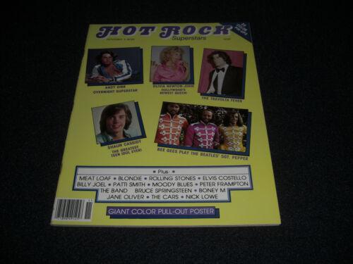Hot Rock Superstars Magazine 1978 Bee Gees and John Travolta Plus Andy Gibb