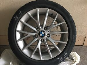 Continental Bmw winter tires with rims