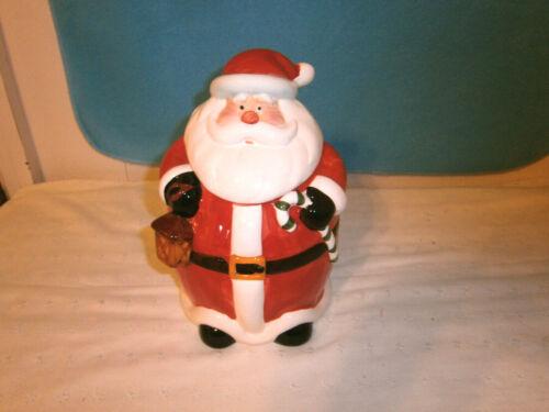 """Santa 10"""" Cookie Jar"""
