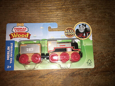 New Fisher-Price Thomas The Train & Friends Wood, Merlin The Invisible 2017 New