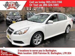 2013 Subaru Legacy 2.5 Limited Pkg, Leather, Sunroof, AWD
