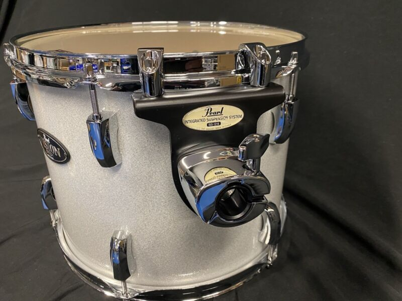 Pearl Vision Birch 13x10 Tom Arctic Sparkle