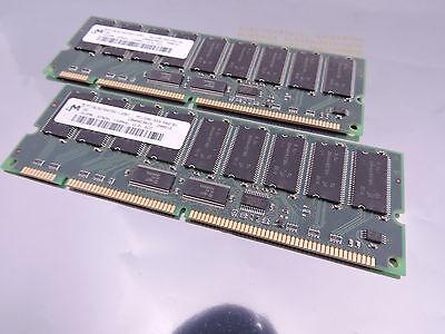 Pc133-ecc-ram (1GB (2x 512MB) PC133 ECC RAM  R-333-542-B1 MT18LSDT6472G-133B1 CL3)