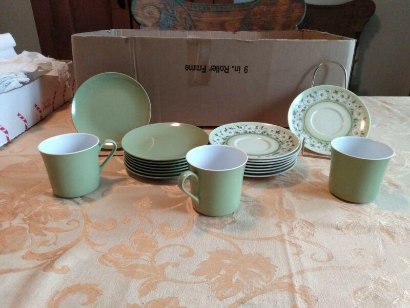 Large Set Of Oneida Deluxe Melamine Dishes