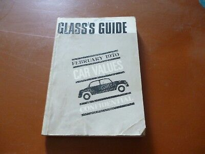 CLASS`S GUIDE FEBRUARY 1970 CAR VALUES CONFIDENTIAL