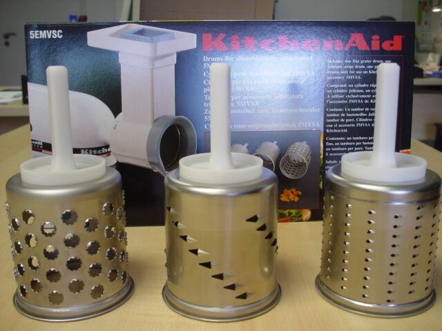 KitchenAid  Zusatzset EMVSC  3 Trommeln für MVSA Gemüseschneider