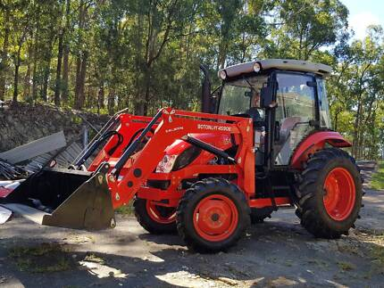 Tractor New Boton 65hp AC Cabin Front End Loader With 4in1 Bucket Nerang Gold Coast West Preview