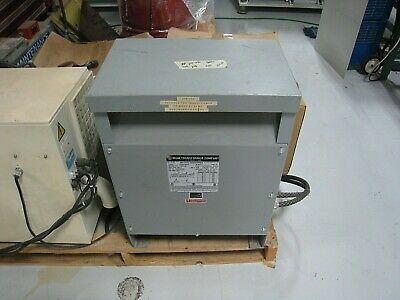 Mgm Transformer Input 230240 Output 208 Delta Wye 3 Phase 15kva