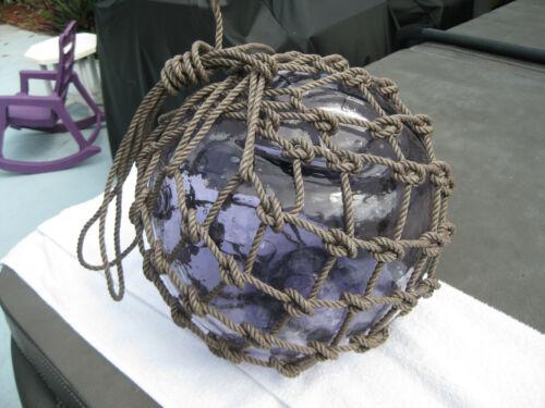 Japanese Glass Fish Floats - Light Purple - Large
