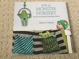 """How to knit a monster nursery"" book"
