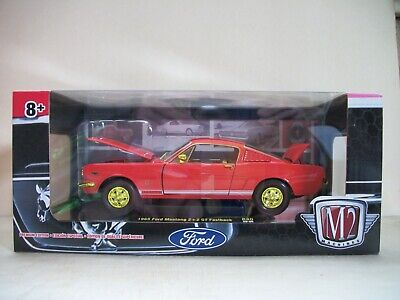 M2 MACHINES FORD SERIES 1965 Ford Mustang 2+2 GT Fassback GOLD CHASE 1 OF 500