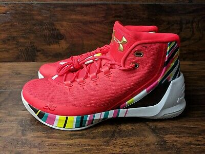 159bb7792ced Brand New Under Armour UA Steph Curry 3 Men s Size 10 Chinese New Year CNY  2017