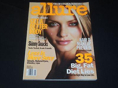 2001 May Allure Magazine   Amber Valletta   Fashion Cover   O 8181