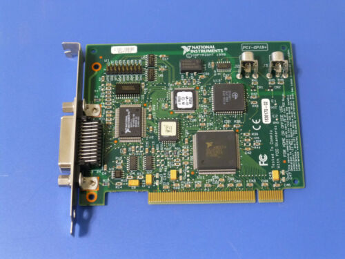 National Instruments PCI-GPIB+ Controller / Analyzer Card 183617-02