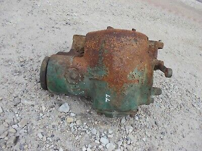 Oliver 77 Row Crop Tractor Belt Pulley Drive Assembly