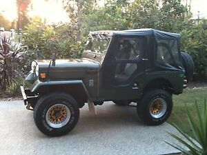 Mitsubishi jeep J53 Mount Cotton Redland Area Preview
