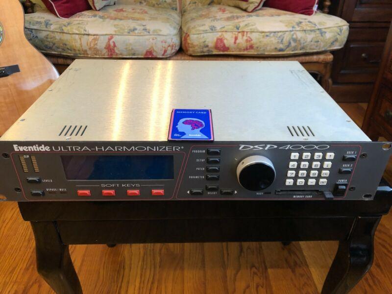 Eventide Ultra Harmonizer DSP 4000, vocal processor, reverb, delay, chorus.