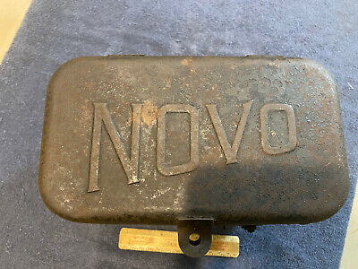 Novo Tin Battery Box Hit Miss Old Engine