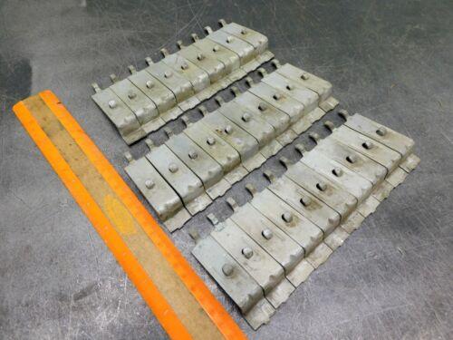 Steel Shelf Clips Industrial Metal Shelving Lot of Twenty Nine (29) Free Ship